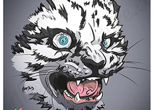 Snow_Leopard_Illustration_by_Alexander_Hare